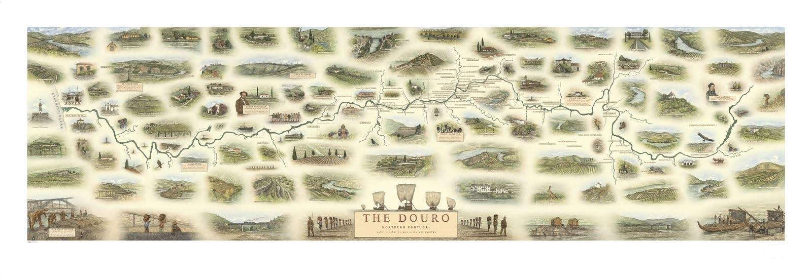 O novo mapa ilustrado do douro